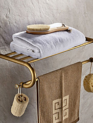 cheap -Bathroom Shelf Antique Brass 1 pc - Hotel bath Double