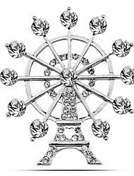 Недорогие -моды женщина сплава Эйфелеву башню броши