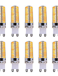cheap -YWXLight® G9 80LED 600-700LM 7W 5730SMD Dimmable LED Bi-pin Lights Warm White Cool White Led Corn Bulb Chandelier Lamp AC 110-220V