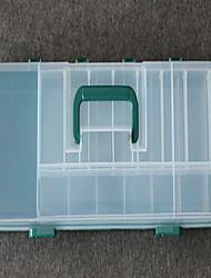 Недорогие -Коробка для рыболовной снасти Коробка для рыболовной снасти Водонепроницаемый 1 Поднос Полиэстер 51 cm 8 cm