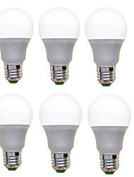 cheap -6pcs LED Globe Bulbs 1200 lm E26 / E27 A60(A19) 12 LED Beads SMD 2835 Decorative Warm White Cold White 220-240 V / 6 pcs / RoHS / CCC / ERP / LVD