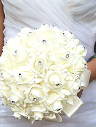"cheap -Wedding Flowers Bouquets Wedding / Party / Evening Rhinestone / Foam / Satin 19.7""(Approx.50cm)"