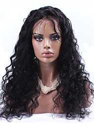 cheap -Human Hair Glueless Full Lace Full Lace Wig style Brazilian Hair Loose Wave Wig 120% Density with Baby Hair Natural Hairline African American Wig 100% Hand Tied Women's Short Medium Length Long Human