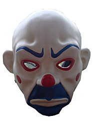 cheap -Mask White & Ink Blue & Red Resin Cosplay Accessories Halloween / Carnival / New Year