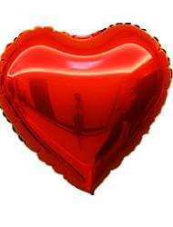 cheap -Balloons Heart-Shaped Aluminium 5 to 7 Years