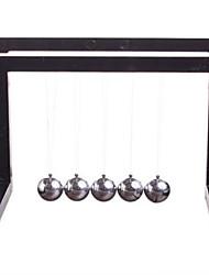 cheap -Balls Newton Cradle Balance Balls Toy Square Plastic Iron Metal Girls' Boys' Gift