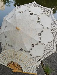 "cheap -Post Handle Lace Wedding / Beach Umbrella Umbrellas 30.7""(Approx.78cm)"