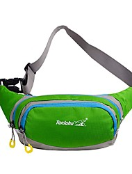 cheap -Fanny Pack Waist Bag / Waist pack Running Pack 10 L for Camping / Hiking Climbing Leisure Sports Sports Bag Multifunctional Waterproof Breathable Running Bag