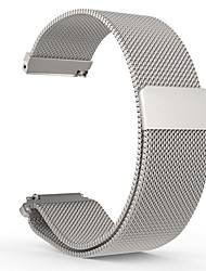 cheap -Smart Watch Band for Pebble 1 pcs Milanese Loop Stainless Steel Replacement  Wrist Strap for Pebble Time Round 20mm