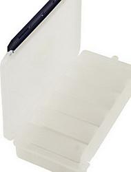 Недорогие -Коробка для рыболовной снасти Коробка для рыболовной снасти Водонепроницаемый 1 Поднос пластик 23 cm 3.5 cm