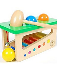 cheap -Hammering / Pounding Toy Baby & Toddler Toy Educational Toy Novelty Education Wooden Wood 1 pcs Kid's Boys' Girls' Toy Gift