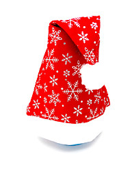 cheap -Christmas Dress Christmas Hat Velvet platband Hat Santa Hat 3Pcs