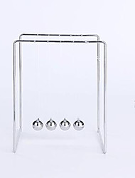 cheap -Toys For Boys Discovery Toys Newton Cradle Balance Balls Square Architecture StainlessSteel
