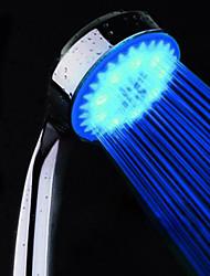 Недорогие -современный хромированный ручной душ - экологичный / светодиодный, душевая лейка