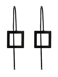 cheap -Women's Drop Earrings Earrings Jewelry Gold / Black / Silver For Casual
