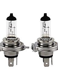 Недорогие -2шт xencn h4 12v P43T 130 / 100w 3200k Emark ясно серии Offroad стандарт фар автомобиля галогенная лампа авто лампы