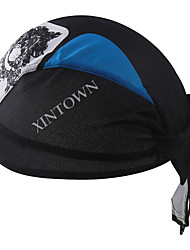 cheap -XINTOWN Skull Caps Hat Headsweat Do Rag Windproof Sunscreen UV Resistant Breathable Quick Dry Bike / Cycling Black / Blue Winter for Men's Women's Unisex Camping / Hiking Fishing Cycling / Bike
