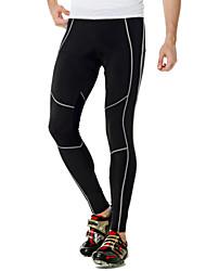 billige -Nuckily Herre Dame Cykeltights Cykel Tights Bukser Underdele Åndbart Ultraviolet Resistent Sport Polyester Sort Tøj Cykeltøj / Elastisk