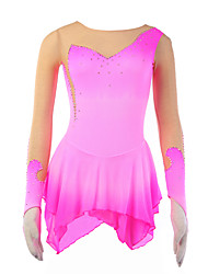 cheap -21Grams Women's Long Sleeve Sport Skirt Skating / Velvet / Velvet