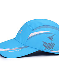 cheap -Spandex Men's Women's Unisex Hat Cap Letter & Number Waterproof Sunscreen Breathable for Baseball Summer Black White Sky Blue / Stretchy / Quick Dry