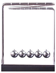 cheap -Newton Cradle Balance Ball Classic Wood Metal Boys' Girls' Toy Gift