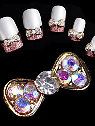 cheap -10 pcs Metal Nail Kits Lovely Classic Daily Nail Jewelry for Finger