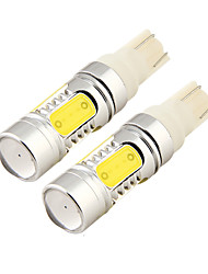 cheap -OTOLAMPARA 2 Pieces 11W 1000LM T10 COB LEDs Car LED Bulb W5W White Color