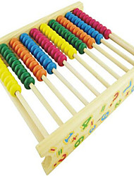 Недорогие -Обучающая игрушка Игрушечные счеты Хобби и досуг Квадратная Дерево Радужный Для мальчиков Для девочек