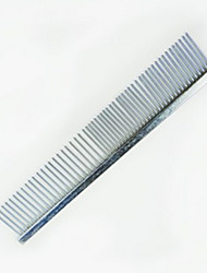 cheap -Dog Cleaning Stainless Steel Comb Portable Pet Grooming Supplies 1