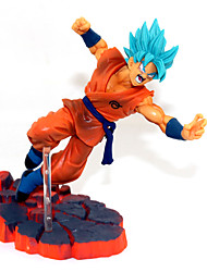 cheap -Anime Action Figures Inspired by Dragon Ball Son Goku PVC(PolyVinyl Chloride) 14 cm CM Model Toys Doll Toy