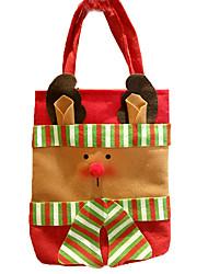 cheap -Christmas Decorations Christmas Party Supplies Gift Bag Santa Suits Elk Snowman Textile Toy Gift 3 pcs