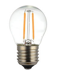 cheap -1pc 2W E27 LED Filament Bulbs Glass Cover Retro Edison Bulb Warm White  Cold White 220-240 V