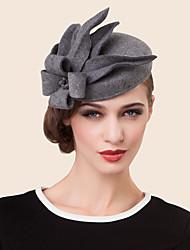 cheap -Wool Rhinestone Alloy Hats Headpiece Classical Feminine Style