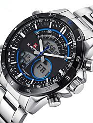 Недорогие -Муж. Спортивные часы Армейские часы Нарядные часы Модные часы Наручные часы электронные часы Кварцевый Цифровой Календарь сплав Группа