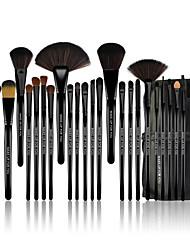 cheap -Professional Makeup Brushes Makeup Brush Set 24pcs Limits Bacteria Pony / Horse / Pony Brush Makeup Brushes for Makeup Brush Set / Artificial Fibre Brush