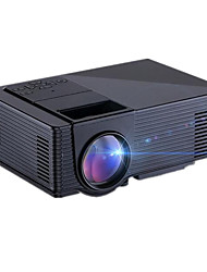 cheap -CH122 LCD LED Projector 1500LM Support 1080P (1920x1080) 30''-100'' / WVGA (800x480) / ±15°
