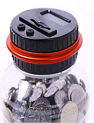 cheap -Flying Gadget Piggy Bank / Money Bank Smart Creative intelligent Glass PVC(PolyVinyl Chloride) Adults' Boys' Girls' Toy Gift