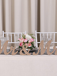 cheap -Wood Table Center Pieces - Non-personalized Placecard Holders 3 Winter Spring Summer Fall All Seasons
