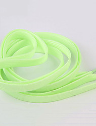 cheap -1pair Sport Luminous Shoelace Glow In The Dark Night Color Fluorescent Shoelace Athletic Sport Flat Shoe Laces