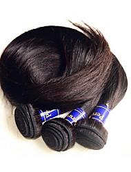 cheap -new 10a peruvian human hair 4bundles 400g lot unprocessed original peruvian virgin hair silk straight style natural color good quality