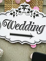 Недорогие -Свадебные прием Дерево / Смешанные материалы Свадебные украшения Классика Все сезоны