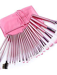 cheap -Professional Makeup Brushes Makeup Brush Set 22pcs Portable Professional Artificial Fibre Brush Makeup Brushes for Blush Brush Foundation Brush Eyeshadow Brush Makeup Brush Set Powder Brush