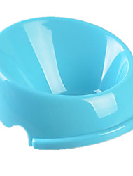 cheap -Cat Dog Bowls & Water Bottles Pet Bowls & Feeding Portable Foldable Green Blue Blushing Pink
