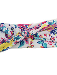 cheap -Toddler Girls' Sweet Floral Bow Nylon / Satin Hair Accessories Dark Blue / Blue / Pink One-Size / Headbands