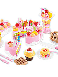 cheap -Play Kitchen Cake Cake & Cookie Cutters Novelty Plastic Kid's Toy Gift