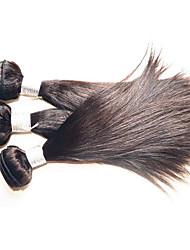 cheap -Human Hair Remy Weaves Straight Brazilian Hair 1000 g More Than One Year