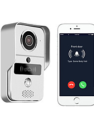 cheap -KONX 720P smart home WiFi video door phone, 2.4G wireless video door phone with RFTD card, wireless unlock Wireless Telephone Photographed / Recording / RFID Wall Mounting