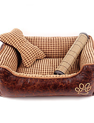 cheap -Cat Dog Bed Plaid / Check Breathable Soft Fabric Cotton for Large Medium Small Dogs and Cats