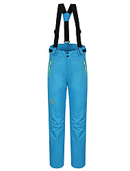 cheap -Women's Hiking Pants Convertible Pants / Zip Off Pants Outdoor Waterproof Thermal / Warm Windproof Fleece Lining Winter Pants / Trousers Bib Pants Camping / Hiking Hunting Ski / Snowboard Red Blue