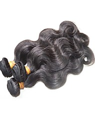 Недорогие -Бразильские волосы Естественные кудри Натуральные волосы 300 g Ткет человеческих волос Расширения человеческих волос / Более года